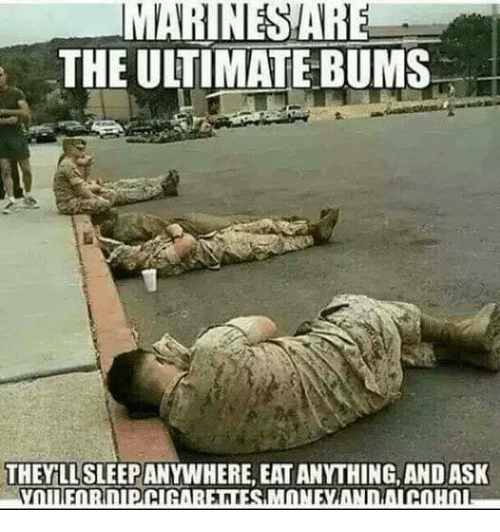 Is the marines for me