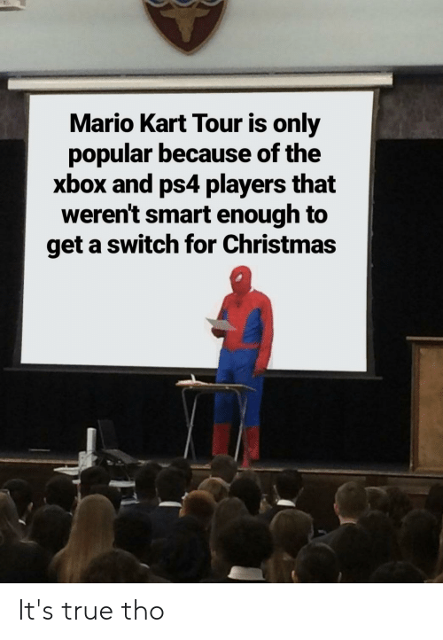 Mario Kart Tour Is Only Popular Because Of The Xbox And Ps4