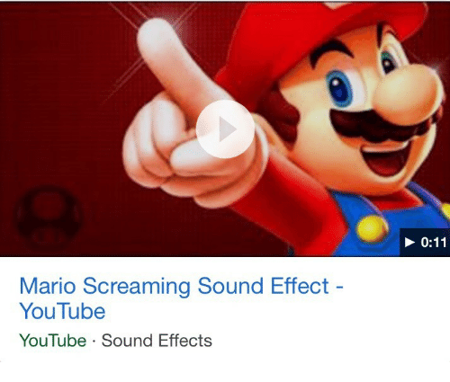 mario screaming sound effect youtube youtube sound effects youtube