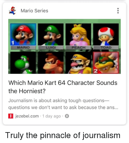 Mario Series 2 Which Mario Kart 64 Character Sounds The
