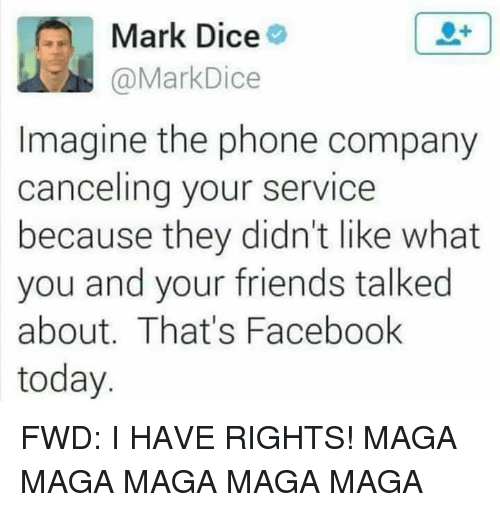 Mark Dice Imagine the Phone Company Canceling Your Service