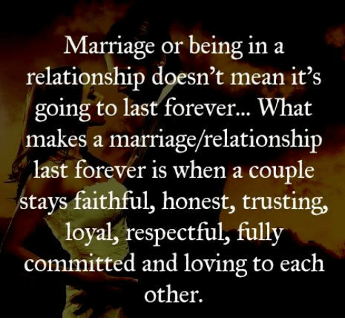 What Does Committed Mean In A Relationship