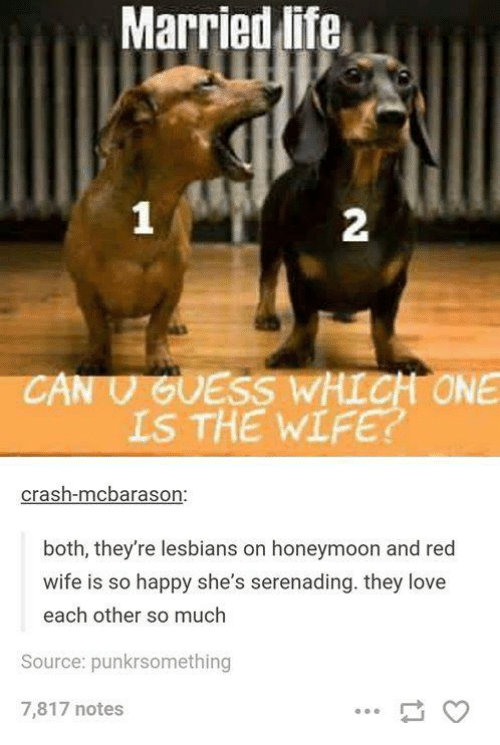 both married and in love with each other