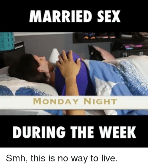married with no sex life
