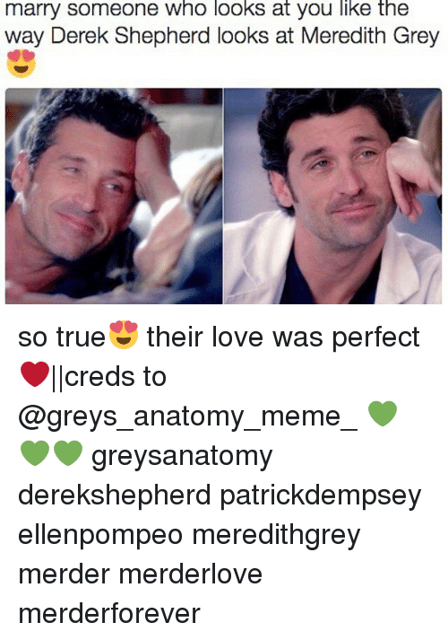 Marry Someone Who Looks at You Like the Way Derek Shepherd ...