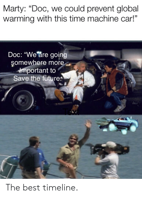 Marty Doc We Could Prevent Global Warming With This Time