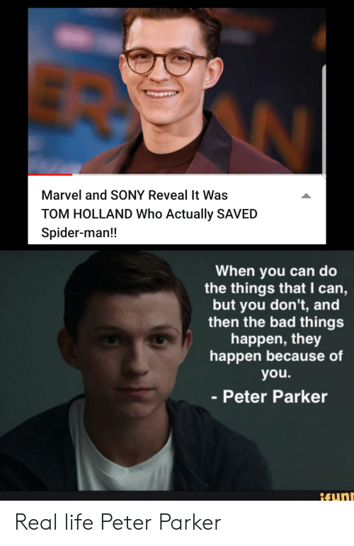 Marvel And Sony Reveal It Was Tom Holland Who Actually Saved