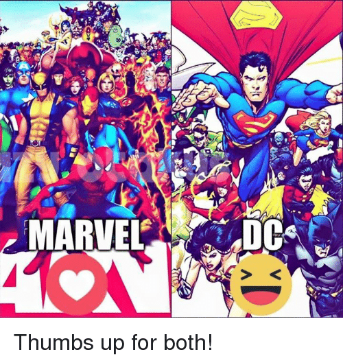 Agree, superman thumbs up for that