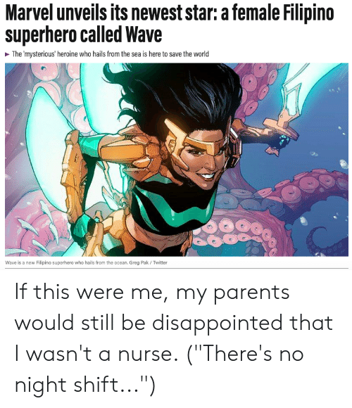 c0d13759 Disappointed, Funny, and Parents: Marvel unveils its newest star: a female  Filipino