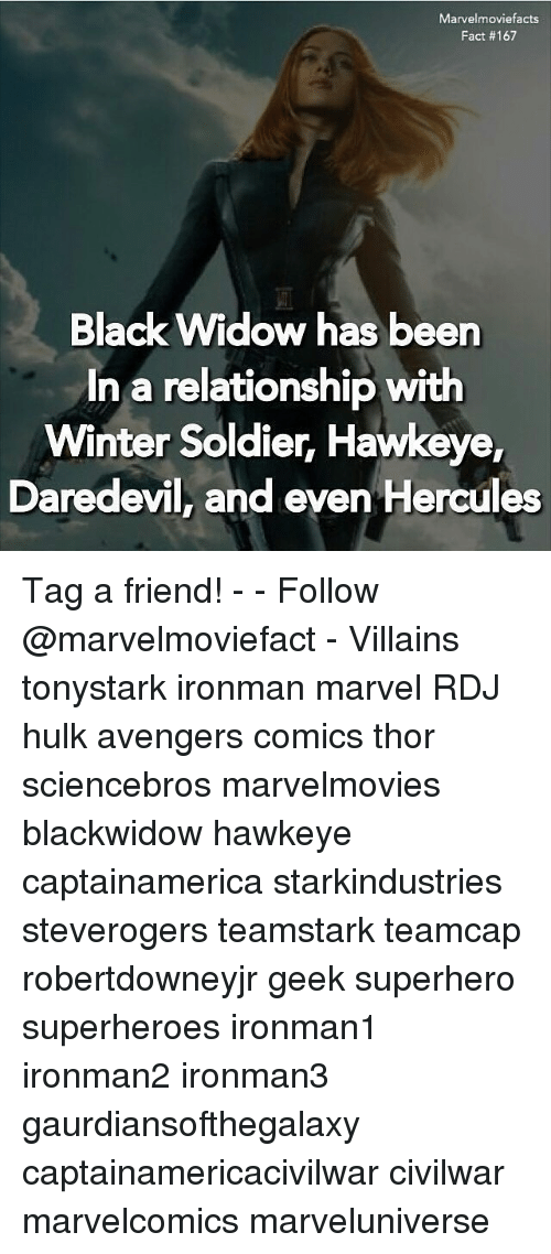 Marvelmoviefacts Fact #167 Black Widow Has Been in a