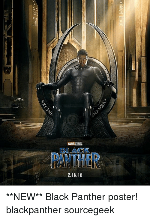 Marvelstudos 21618 Verh Mxc New Black Panther Poster