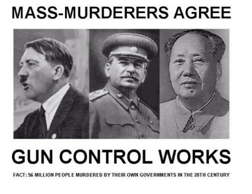 Memes, Control, and 🤖: MASS-MURDERERS AGREE  GUN CONTROL WORKS  FACT: 56 MILLION PEOPLE MURDERED BY THEIR OWN GOVERNMENTS IN THE 20TH CENTURY