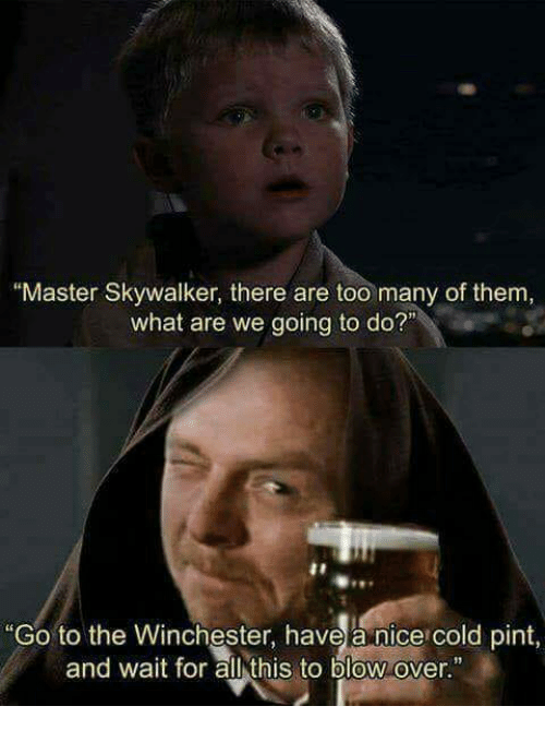Master Skywalker There Are Too Many Of Them What Are We