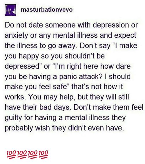 Dating someone with depression in Australia