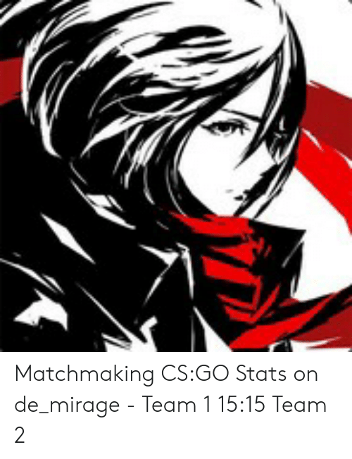 Matchmaking CSGO Stats on De_mirage - Team 1 1515 Team 2