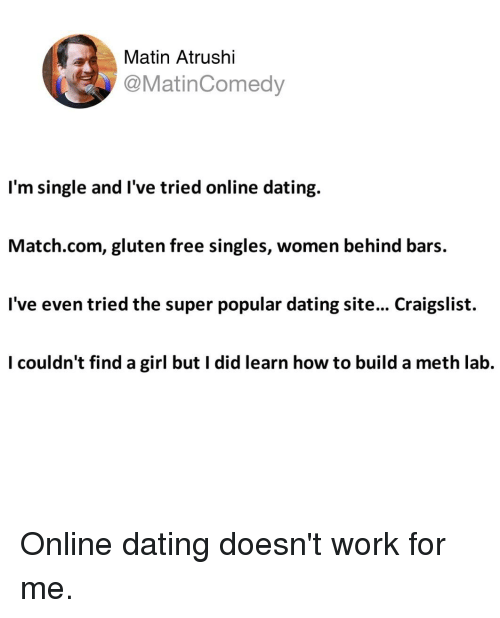 Why online dating doesn'