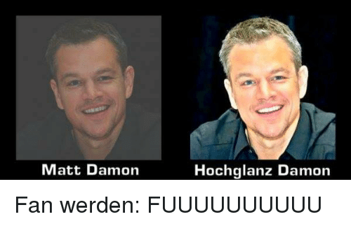 matt damon hochglanz damon fan werden fuuuuuuuuuu matt. Black Bedroom Furniture Sets. Home Design Ideas