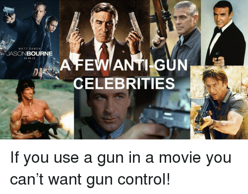 Celebrity Gun Owners: Stars Who Are Packing Heat (PHOTOS ...