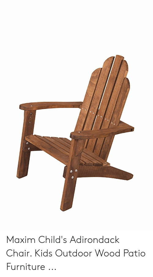 Prime Maxim Childs Adirondack Chair Kids Outdoor Wood Patio Short Links Chair Design For Home Short Linksinfo