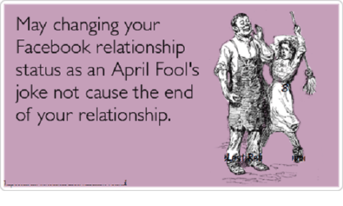 Image result for april fools status