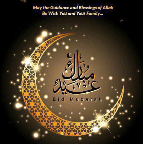 May The Guidance And Blessings Of Allah Be With You And Your Family