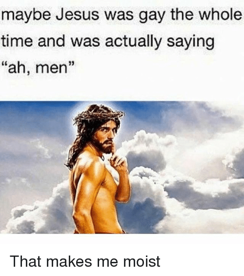 gay Jesus was