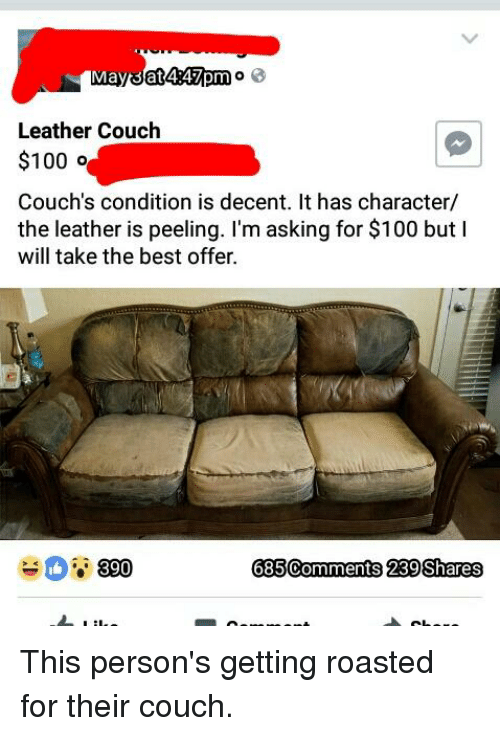 Funny Couches ✅ 25+ best memes about leather couch | leather couch memes