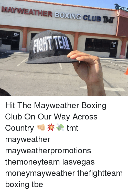 07723a3ec63 MAYWEATHER BOXING CLUB MT 4020 24020 Hit the Mayweather Boxing Club ...