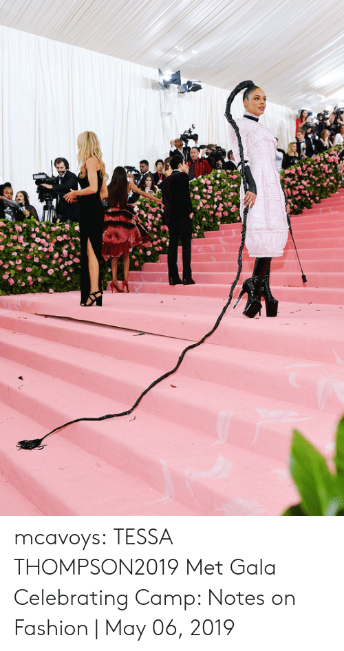 Fashion, Tumblr, and Blog: mcavoys:   TESSA THOMPSON2019 Met Gala Celebrating Camp: Notes on Fashion | May 06, 2019