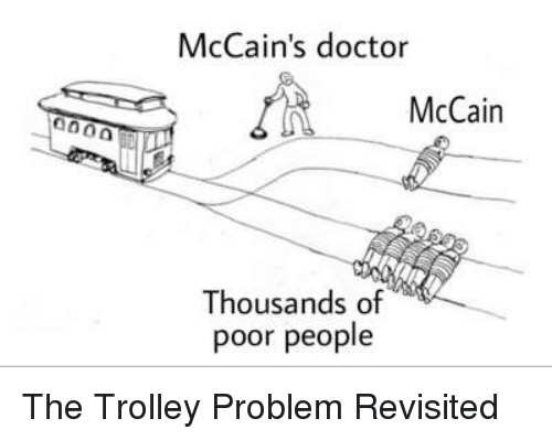 the trolley problem Is sacrificing one life to save the lives of many others the best possible outcome narrated by harry shearer scripted by nigel warburton do you draw concl.