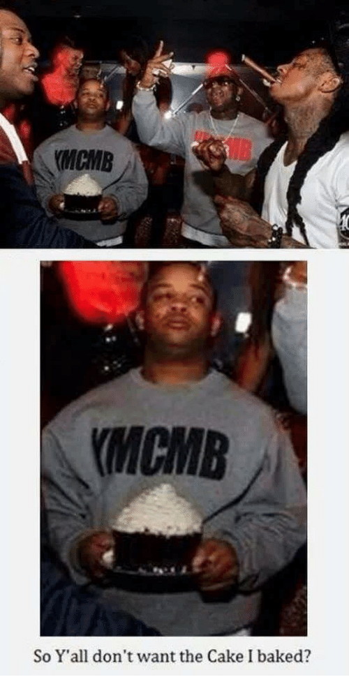 Baked, Cake, and Yall: MCMB  MCMB  So Y'all don't want the Cake I baked?