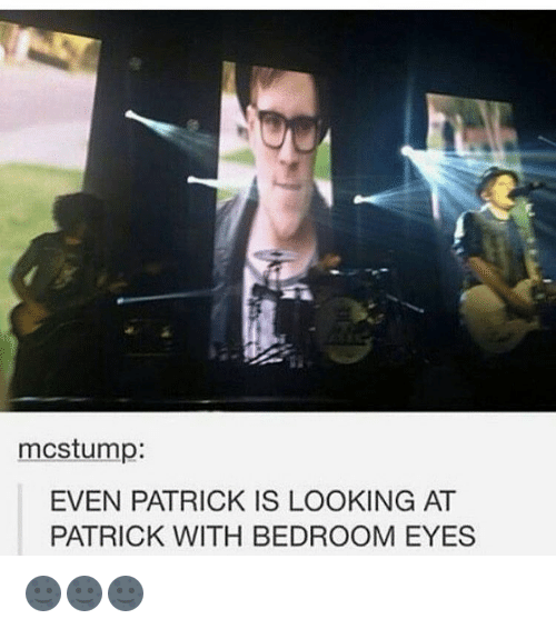 Mcstump Even Patrick Is Looking At Patrick With Bedroom Eyes