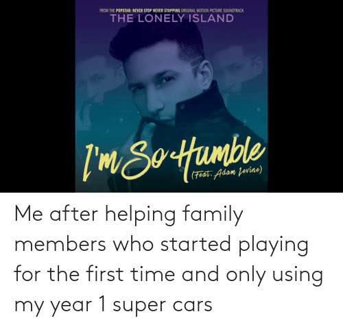 Cars, Family, and Time: Me after helping family members who started playing for the first time and only using my year 1 super cars