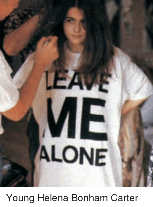 ME ALONE Young Helena ... Helena Bonham Carter Facebook