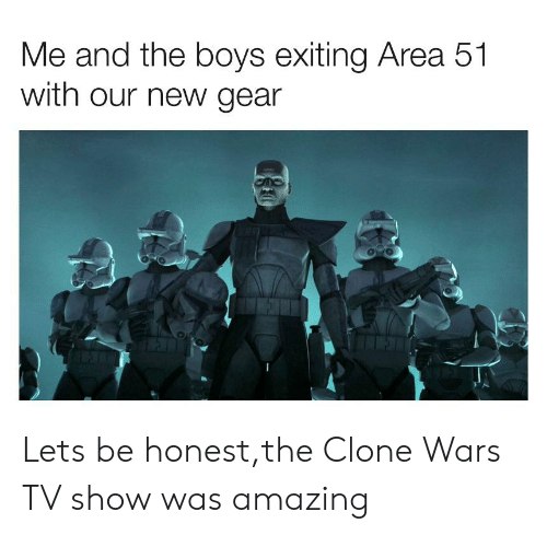 Me And The Boys Exiting Area 51 With Our New Gear Lets Be