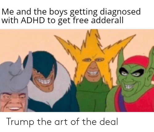 Me and the Boys Getting Diagnosed With ADHD to Get Free