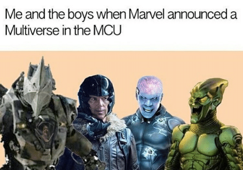 Me and the Boys When Marvel Announced a Multiverse in the