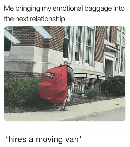 emotional baggage from past relationships