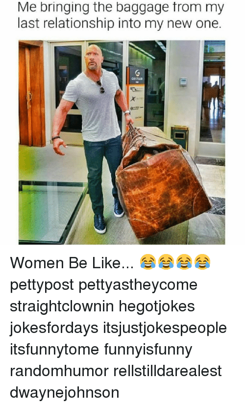 bringing baggage into new relationship