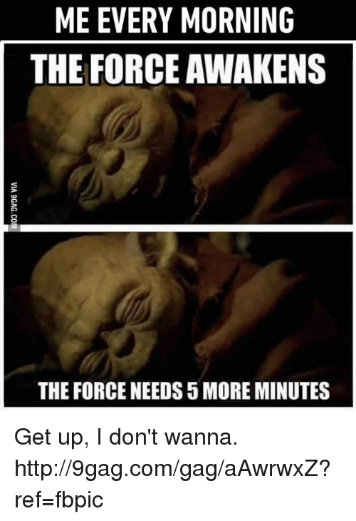 The Force Awakens The Force Needs 5 More Minutes