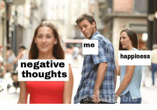 Happiness,  Thoughts, and Negative: me  happiness  negative  thoughts