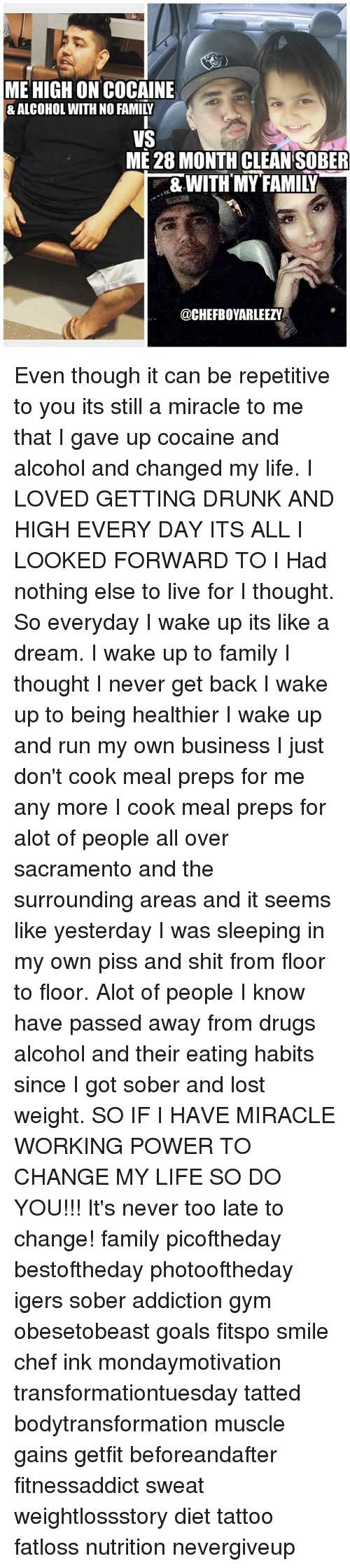 What does a drunk dream about