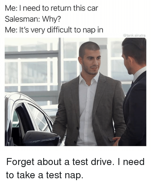 Image result for nap and drive meme