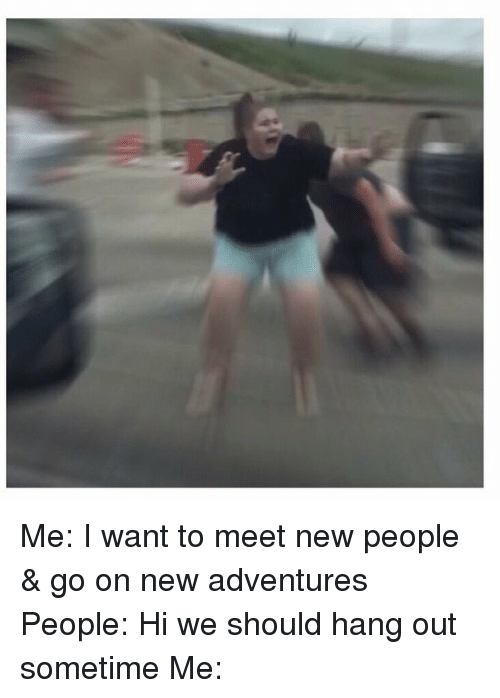 How To Go Out And Meet People