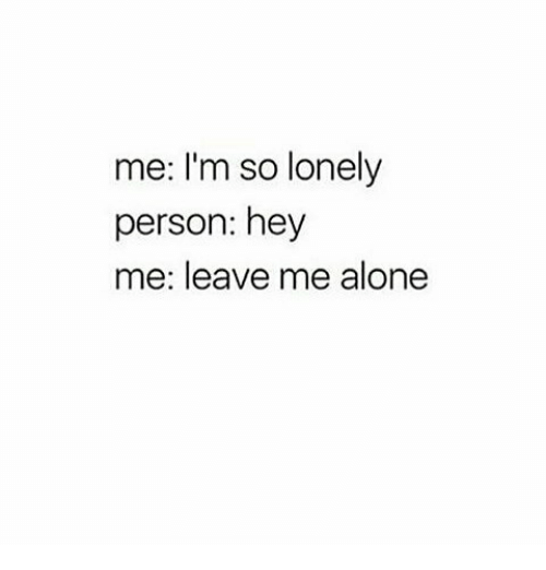 Im a lonely person