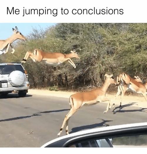 Memes, 🤖, and Conclusion: Me jumping to conclusions