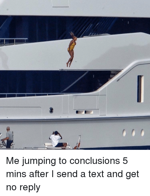 Jumping To Conclusions Text