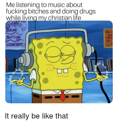 Fucked While Listening Music