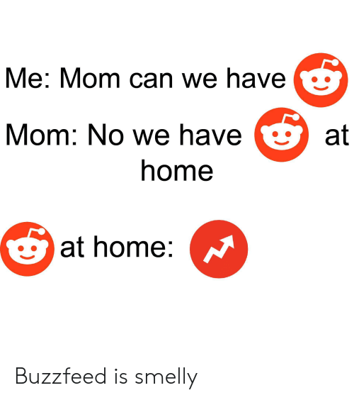 Me Mom Can We Have Mom No We Have at Home at Home Buzzfeed