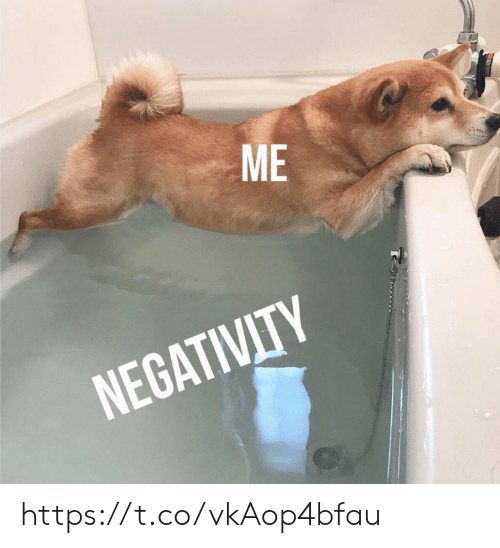 Memes, 🤖, and Negativity: ME  NEGATIVITY https://t.co/vkAop4bfau
